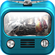 TV Icon-iOS Retina Icon - GraphicRiver Item for Sale