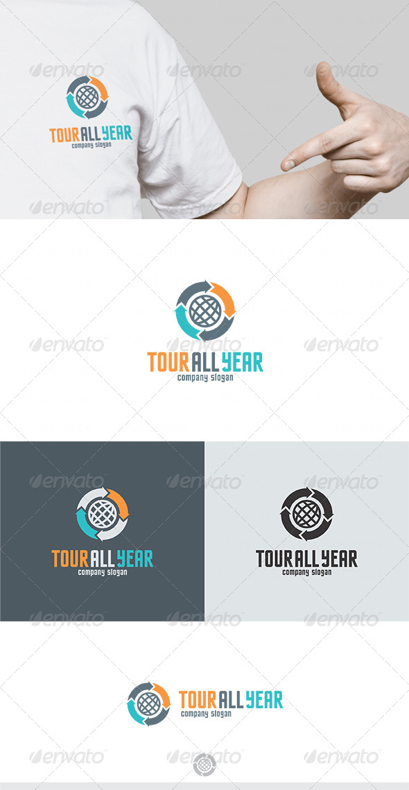 GraphicRiver Tour All Year Logo 4687459