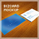 Realistic 5 Business Card Mockup - GraphicRiver Item for Sale