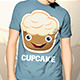 Cupcake T-Shirt Template - GraphicRiver Item for Sale