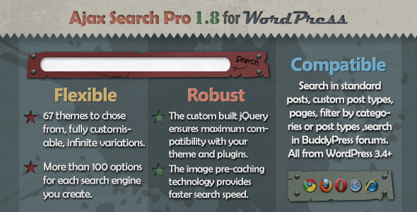 Ajax Search Pro for WordPress - CodeCanyon Item for Sale