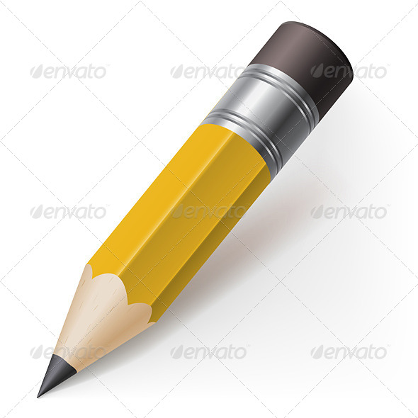 GraphicRiver Realistic Pencil 4688686
