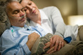 Retired ill man and caring wife sleeping - PhotoDune Item for Sale