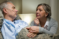 Senior patient at hospital with worried wife - PhotoDune Item for Sale