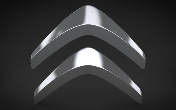 3DOcean Citroen Logo 4689366