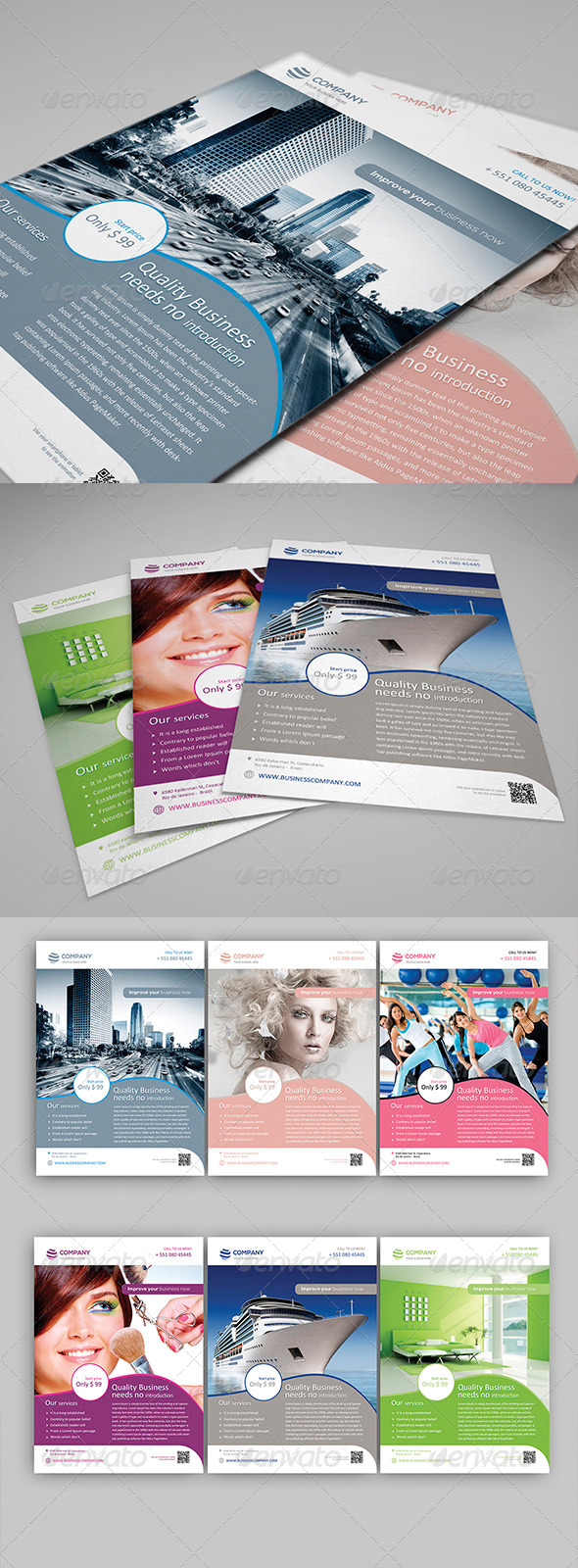 GraphicRiver Multipurpose Corporate Flyer Vol 1 4689387