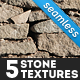 5 Seamless Stone Textures - GraphicRiver Item for Sale