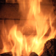 Flame In The Fireplace - VideoHive Item for Sale