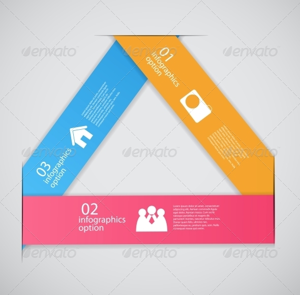 GraphicRiver Infographic Template Business Vector Illustration 4692588