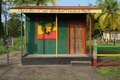 House with rasta colors in the Caribbean - PhotoDune Item for Sale