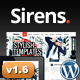 Sirens Multi-Purpose Stylish Business Theme - ThemeForest Item for Sale