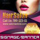 Corporate Roll-up Banner - Beauty Salon - GraphicRiver Item for Sale