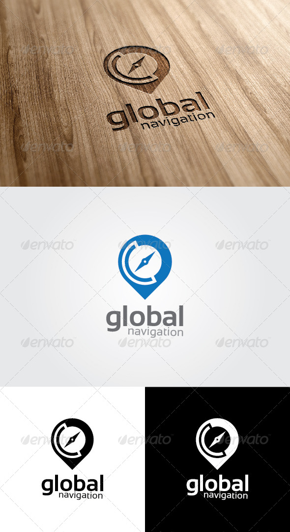 GraphicRiver Global Navigation Logo 4692863