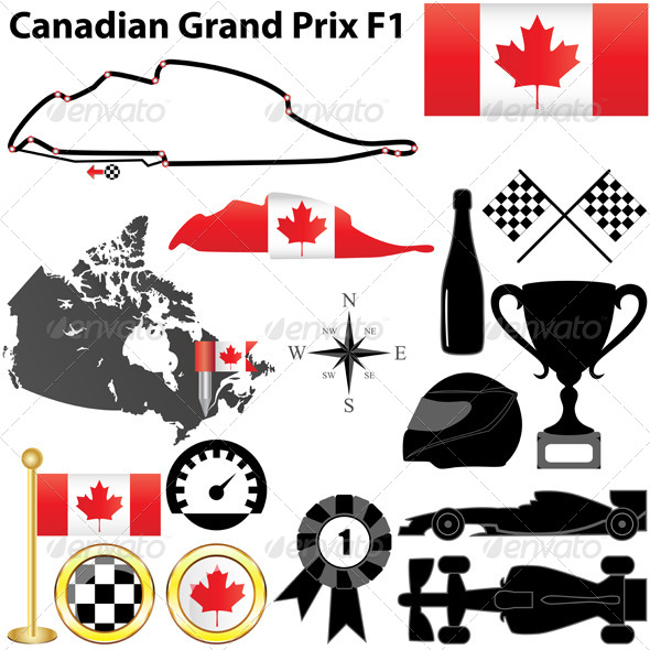 GraphicRiver Canadian Grand Prix F1 4693761