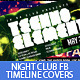 Night Club Party Facebook Timeline Covers - GraphicRiver Item for Sale