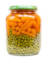 Can of Carrots and Peas - PhotoDune Item for Sale