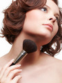 woman with makeup brush - PhotoDune Item for Sale