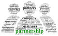 Partnership and business concept in tag cloud - PhotoDune Item for Sale