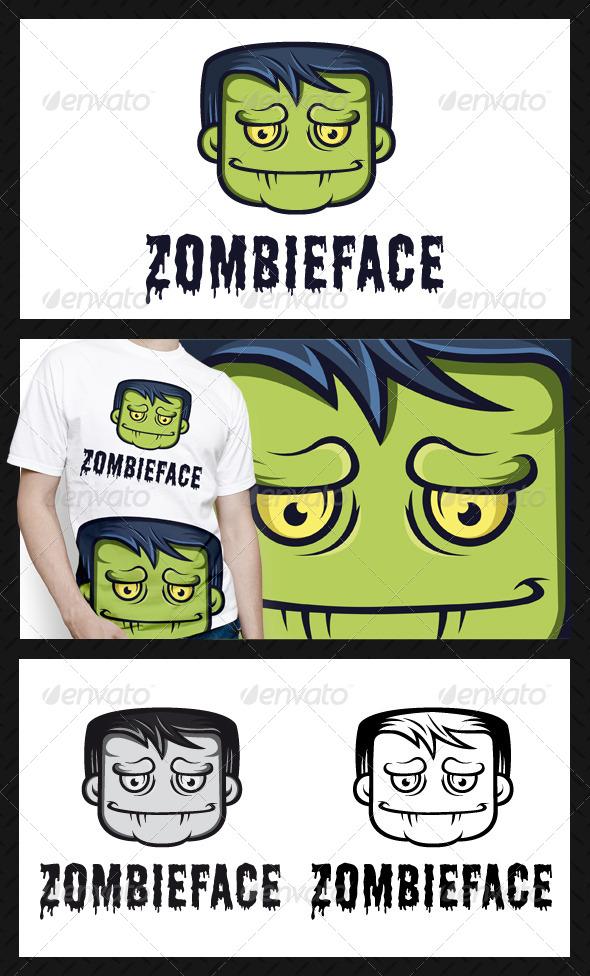 GraphicRiver Zombie Logo Template 4696424