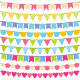 Vector Bunting and Garland Set. - GraphicRiver Item for Sale