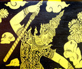Traditional Thai style painting in Ramayana literature - PhotoDune Item for Sale