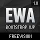 EWA - Bootstrap Multi -Purpose Wordpress Theme - Corporate WordPress