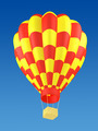 Red and yellow hot air balloon - PhotoDune Item for Sale