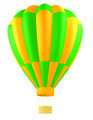 hot air balloon isolated - PhotoDune Item for Sale