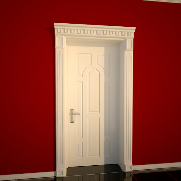 3DOcean White Door 4697963