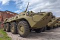 Wheeled amphibious armoured personnel carrier BTR-80 - PhotoDune Item for Sale