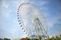 Ferris Wheel near Tempozan Habor village - Osaka, Japan - PhotoDune Item for Sale