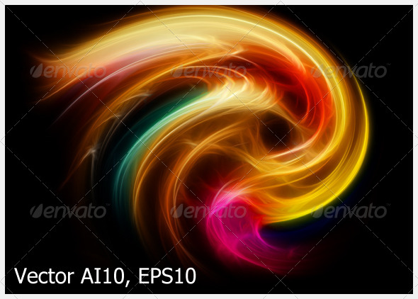 Abstract Background Vector - Backgrounds Decorative
