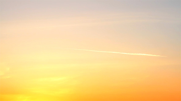 Stock Footage Sky During Sunset Videohive
