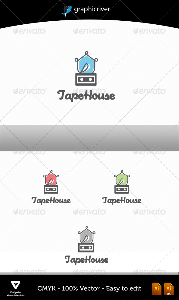 GraphicRiver TAPEHOUSE 4672034