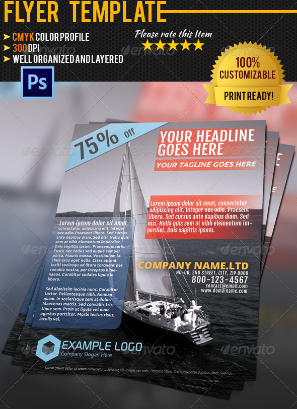 GraphicRiver Travel Flyer Template 01 4605229