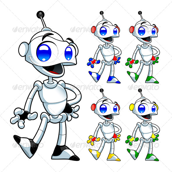 GraphicRiver Funny Robot 4699611