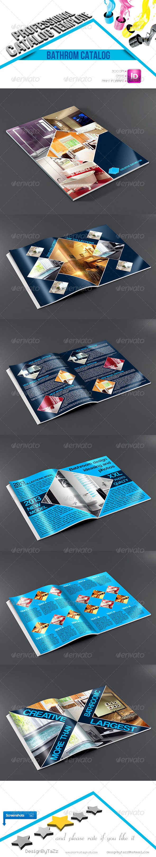 GraphicRiver Creative Bathroom Catalog Template 4629185