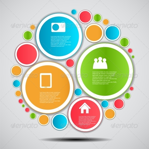 GraphicRiver Infographic Template Business Vector Illustration 4699616