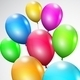 Multicolored Balloons - GraphicRiver Item for Sale