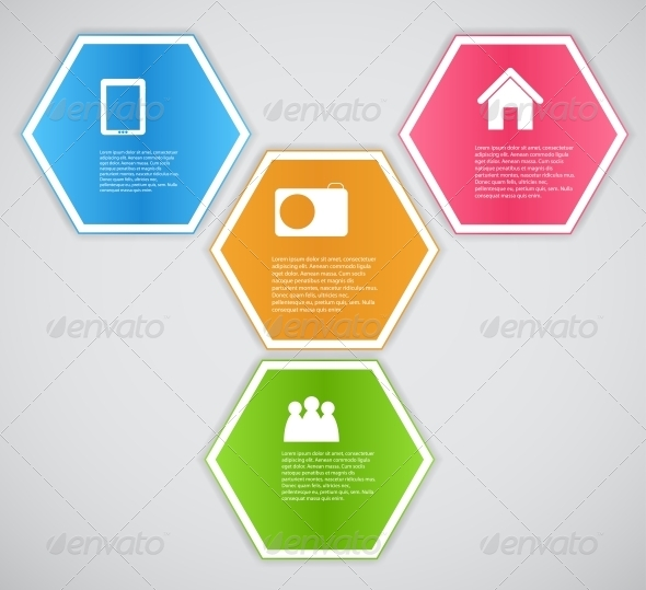 GraphicRiver Infographic Template Business Vector Illustration 4699661