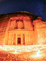 Petra by night - PhotoDune Item for Sale
