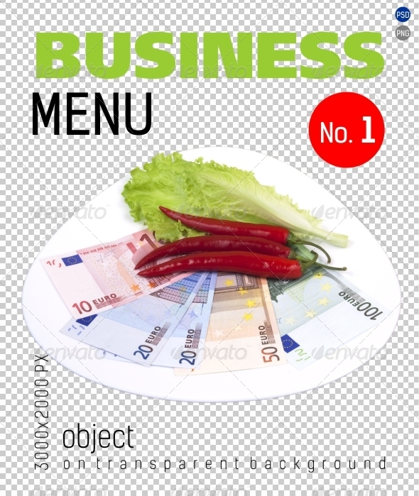 GraphicRiver Business Menu No.1 on Transparent Backgrounds 4701318