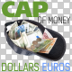 Cap of Money (Dollars and Euros) on Transparent  - GraphicRiver Item for Sale