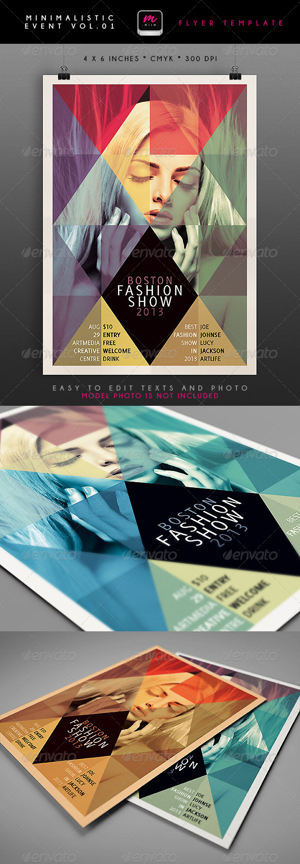 GraphicRiver Minimalistic Event Flyer 1 4701748