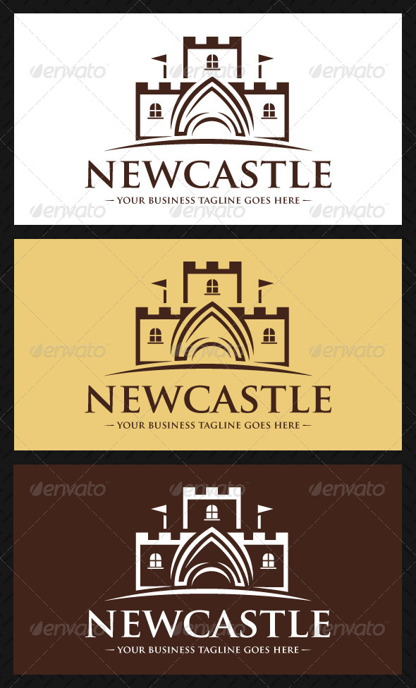 GraphicRiver Castle Logo Template 4702265
