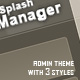 Splash Manager - ThemeForest Item for Sale