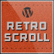 Retro Scroll - Creative One Page WordPress Theme - ThemeForest Item for Sale