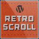 Retro Scroll - Creative One Page WordPress Theme
