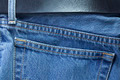 Blue jeans with a belt - PhotoDune Item for Sale