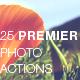 25 Premier Photo Actions - GraphicRiver Item for Sale